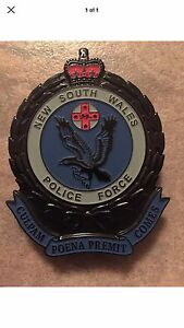 Police badge / memorabilia NSW wanted Port Augusta Port Augusta City Preview