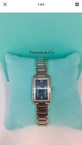 Authentic Tiffany & Co diamond watch Alexander Heights Wanneroo Area Preview