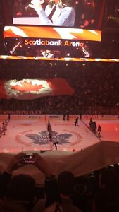 LEAFS Saturday Night! Centre Ice Section 108 - $800/PAIR