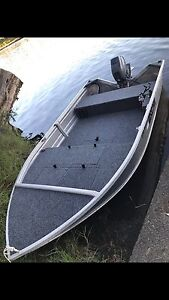 Stacey proline 379 with 15hp Yamaha outboard Blue Haven Wyong Area Preview