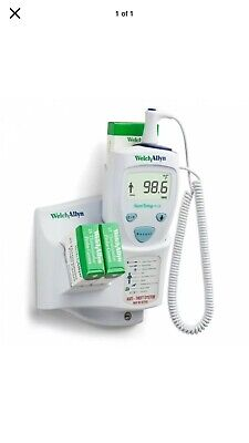 Welch Allyn Suretemp Electric Thermometer 01690-300 With Wall Mount