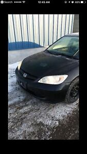 Honda Civic 2005 in great condition  London Ontario image 2