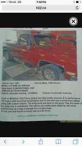 1981 Chevrolet C10 Shortbox