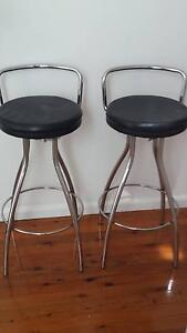 Bar Stool Kitchen Bench Stool x 2 Grays Point Sutherland Area Preview