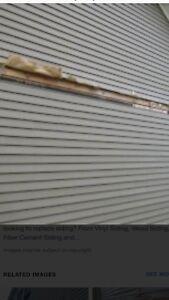 Siding repair, deck repair, fence repair ...
