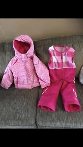 Columbia winter jacket and snow pants Sz 3T