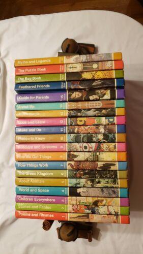 Childcraft Book Set - 15 Volumes Plus 4 Annuals - 1980 Printing