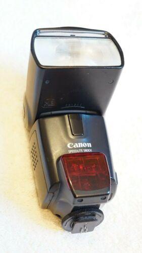 CANON SPEEDLITE 580EX FLASH UNIT 5D MK III, 7D, 80D
