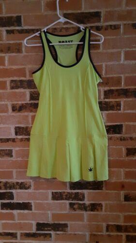 NWOT Boast Lime Green Pleated Tennis  Dress Sz XSm & M