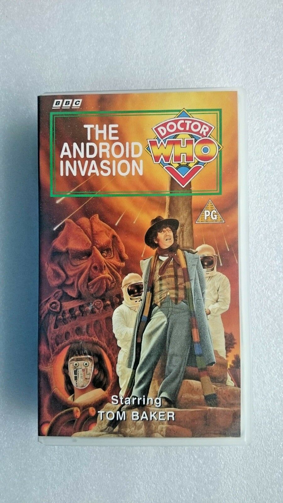 Doctor Who - The Android Invasion (VHS, 1995) - Tom Baker