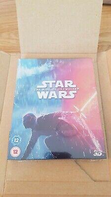 star wars rise of skywalker blu ray 3d & 2d Zavvi Steelbook