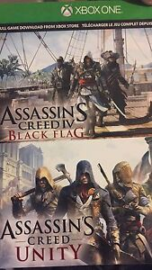 Assassins creed IV and unity