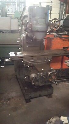 Milling Vertical Kt Milwaukee Mod.h 10x50 Table. Power Xy Z Reduced