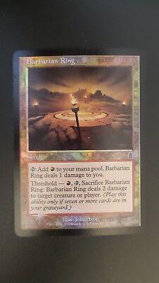 Odyssey ** Barbarian Ring (FOIL) ** Mtg Magic (MP)