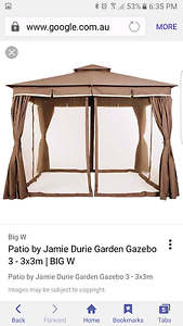 Jamie Durie Gazebo Side pannels Dodges Ferry Sorell Area Preview