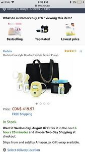 Double electric Medela Freestyle Breast Pump