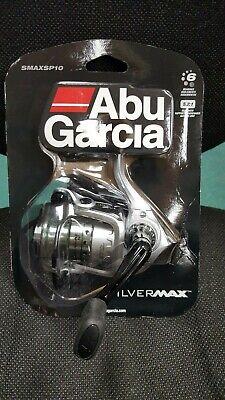 Abu Garcia Silver Max Spinning Reel 20, 5.1:1 Gear Ratio, 6 Bearings  SMAXSP20-C
