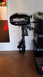 Mercury 2.5/3.3 Outboard. Allawah Kogarah Area Preview