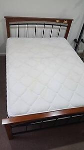 KIMI Queen Bed with mattress - great condition Toongabbie Parramatta Area Preview