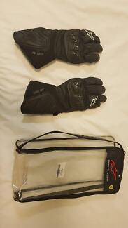 Alpinestars 365 Goretex Motorcycle Gloves - Small