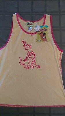 Vtg. Scooby Doo Girls tank top sleepwear underwear NWT size - Scooby Doo Girls