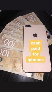 cash paid for iphones
