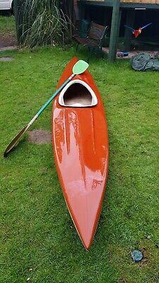 Kayak/canoe With Paddle