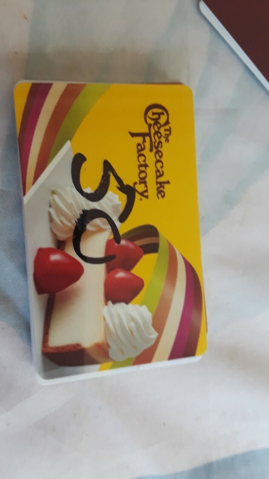 50 Cheesecake Factory Gift Card FREE SHIPPING - $48.98