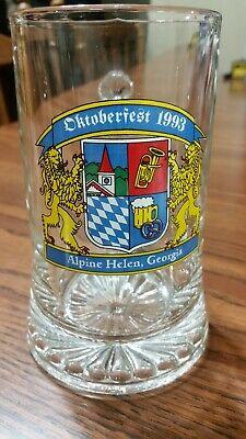 OKTOBERFEST BEER STEIN ALPINE HELEN GEORGIA BEER STEIN MUG 1993 FESTIVAL](Oktoberfest Mug)