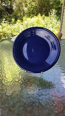 DINNER PLATE cobalt blue HOMER LAUGHLIN FIESTA WARE 10.5