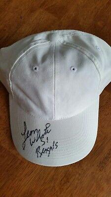 Leon White 51 Bengals autographed baseball hat