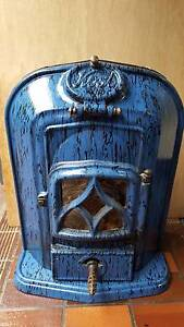 KOSI Cast Iron Fireplace Heater (Blue) Kilaben Bay Lake Macquarie Area Preview