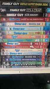 Family guy collection Season 1-13 + 4 bonus dvds Slacks Creek Logan Area Preview