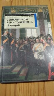 Germany from Reich to Republic, *****1918 Inglewood Stirling Area Preview