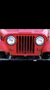 Looking for a Jeep CJ grill and tailgate