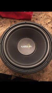 """15"""" subwoofer heavy bass mint condition"""