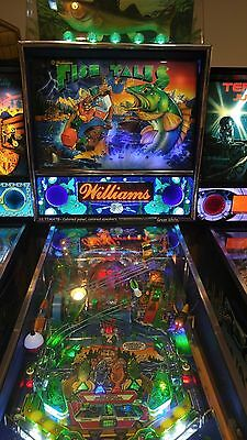Fish Tales FT Lighted Pinball LED Speaker Panel - ULTIMATE