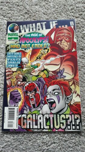 Marvel Comics - What If - No 81 - JAN 1996 - Age Of Apocalypse Had Not Ended