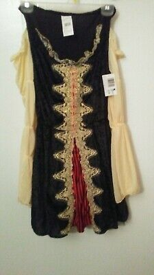 Captain Costume Women (Buccaneer Beauty Pirate Captain Woman's Costume One Size Fits Most.( No)