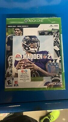 Madden NFL21 XBox one