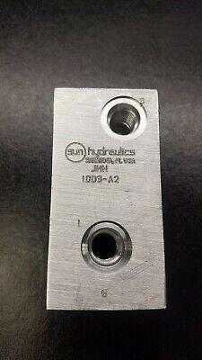 Sun Hydraulics Jhh Aluminum Hydraulic Valve Block Body - Never Used