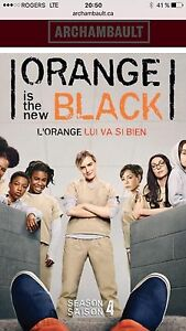 Orange is the new black saison 4 (fr et ang)