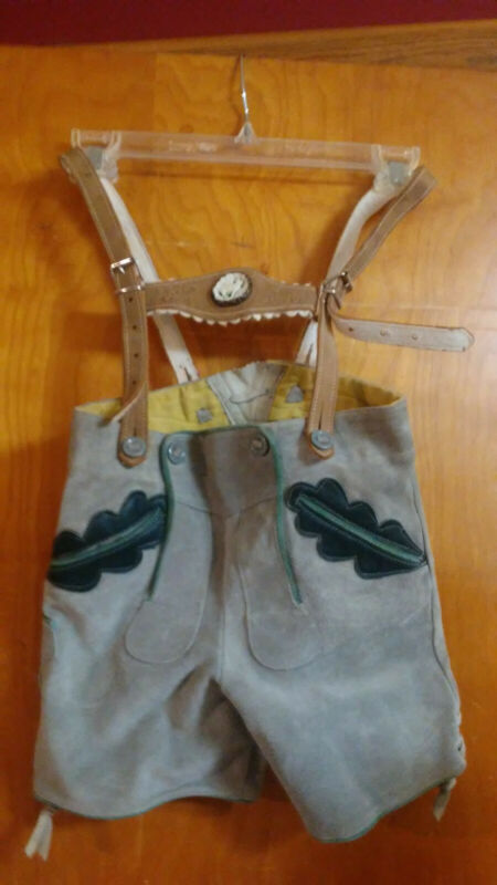 "Lederhosen - Youth /  24"" Waist / Never Worn/ LIKE NEW"