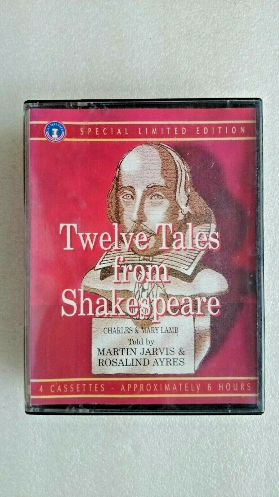 Twelve Tales from Shakespeare (4 x Audio Cassettes 2002) Special Limited Edition