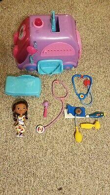 Doc McStuffins Get Better Talking Mobile Clinic with Accessories Disney Junior  (Disney Junior Doc Mcstuffins Get Better Talking Mobile)