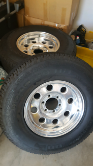 Centreline 4x4 rims and tyres