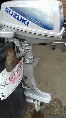 Suzuki 8hp two stroke outboard