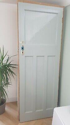 1930s Painted internal door