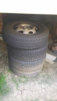 CHEAPP 150 4 TYRES 90% TREAD QUICK SALE Casula Liverpool Area Preview