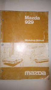 1993 mazda 929 service repair manual software